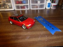 The CRX took first place at Hobbytown USA's Spring 2013 Model Contest.