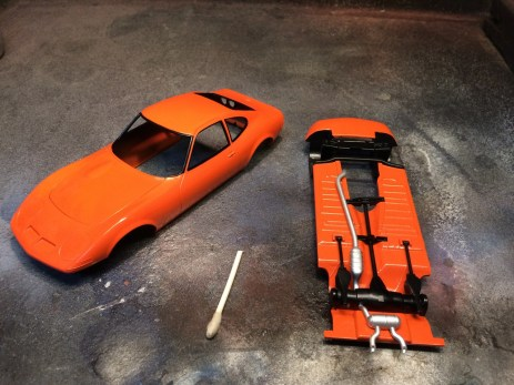 With the trim paint and a chassis detail completed, I was looking forward to wrapping up this project.