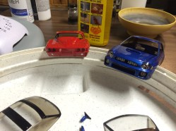 Tail lights and head lights are slowly being attached to projects.