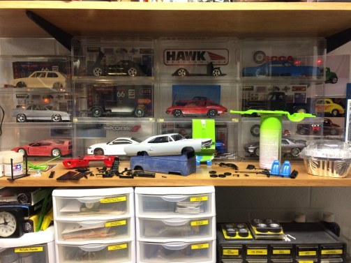 Interior and chassis work has begun for the '70 Superbird.