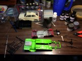 I worked on chassis detail for the Superbird and Golf