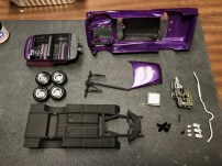 With everything built and painted, it was time to start final assembly.