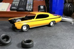 No muscle car is complete without raised white lettering on the tires.