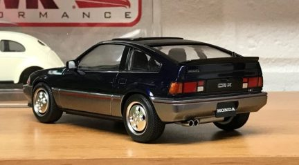 The detail work on the CRX turned out very well.
