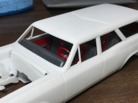 The interior for the Chevelle looks great!