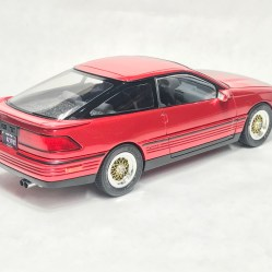 The tail lights look acceptable. Since they were molded in red, I could not detail them correctly.