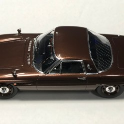 Although the metallic brown is not a factory color option, I really love the way it looks on this kit.