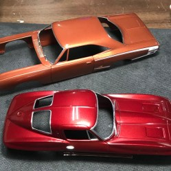 I foiled both the Vette and the Superbee.