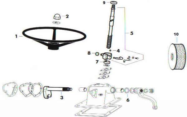 Ford Steering Box Diagram