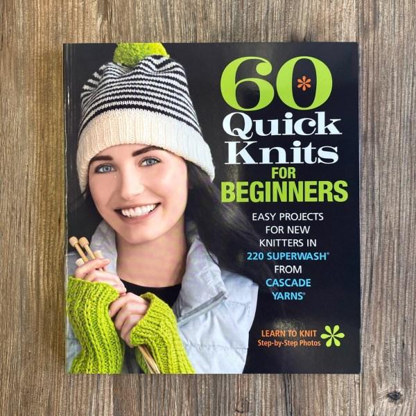 beginner knitting book