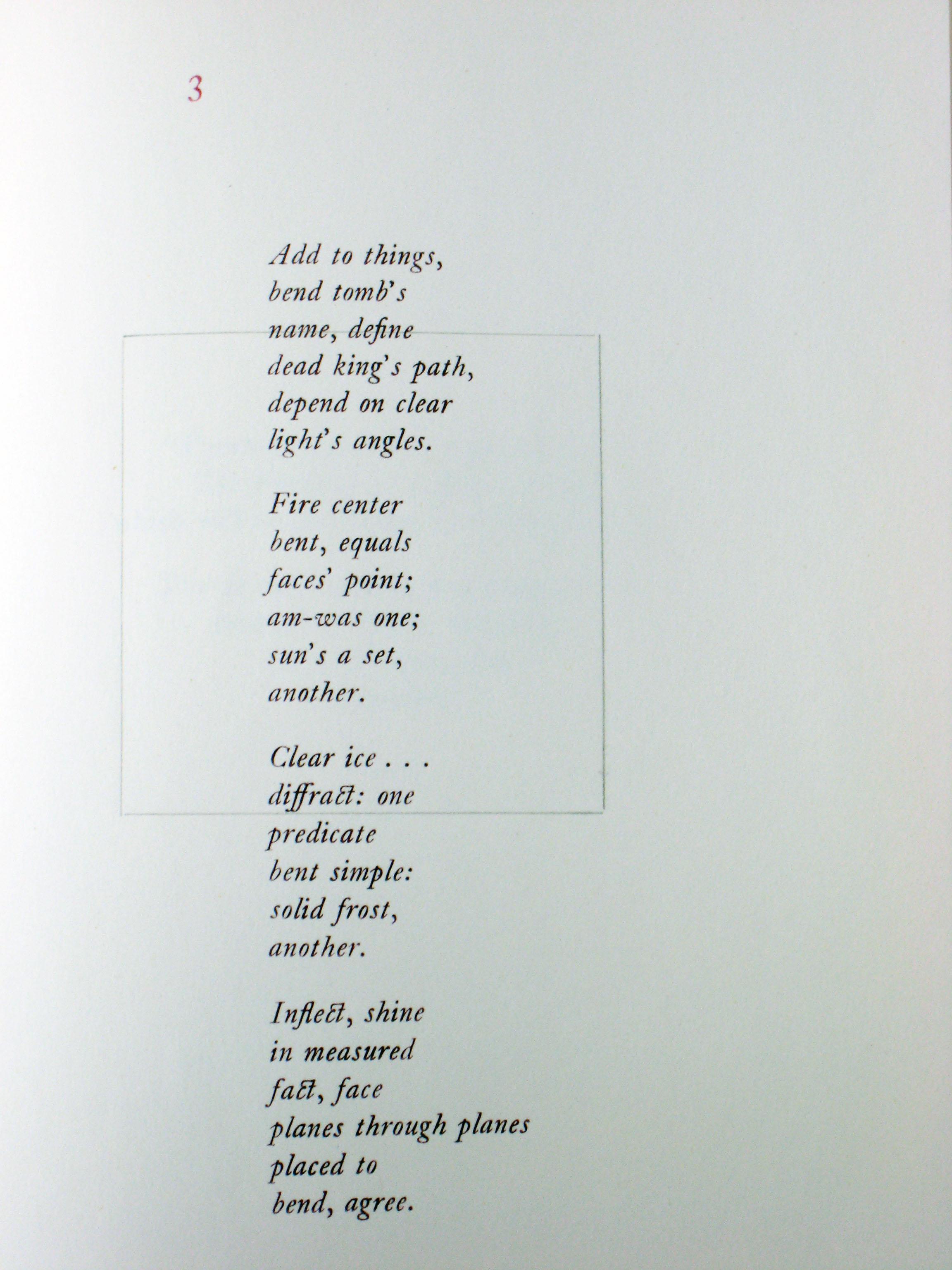 4 Stanza Poem Examples