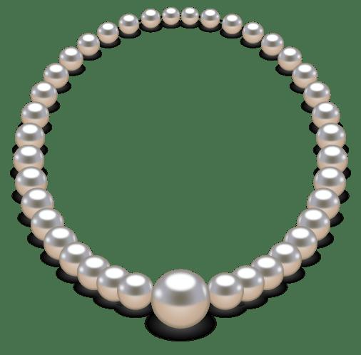 Collier de perles avec inkscape