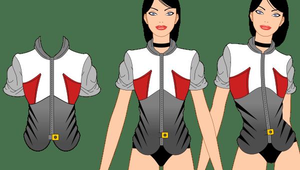 créer et ajuster un vêtement avec inkscape