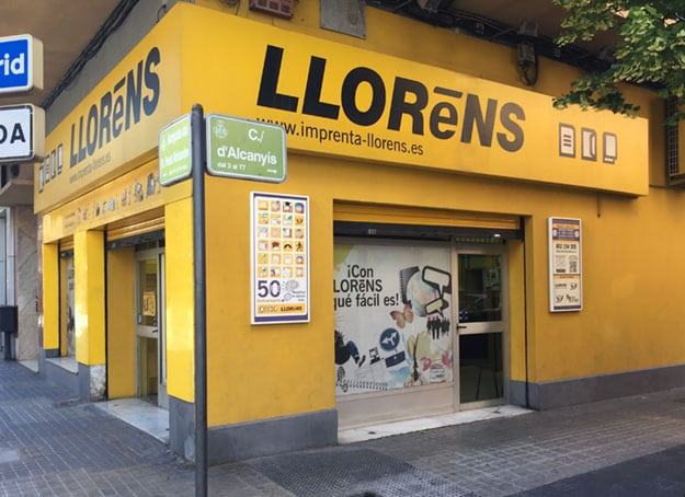 Imprenta Llorens Valencia