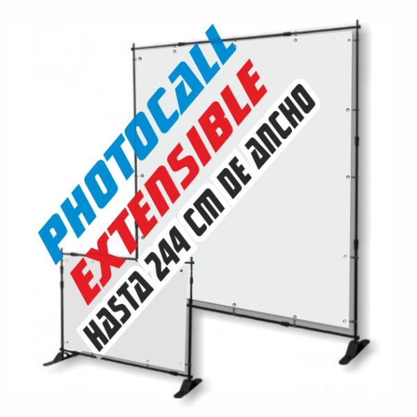 photocall extensible barato