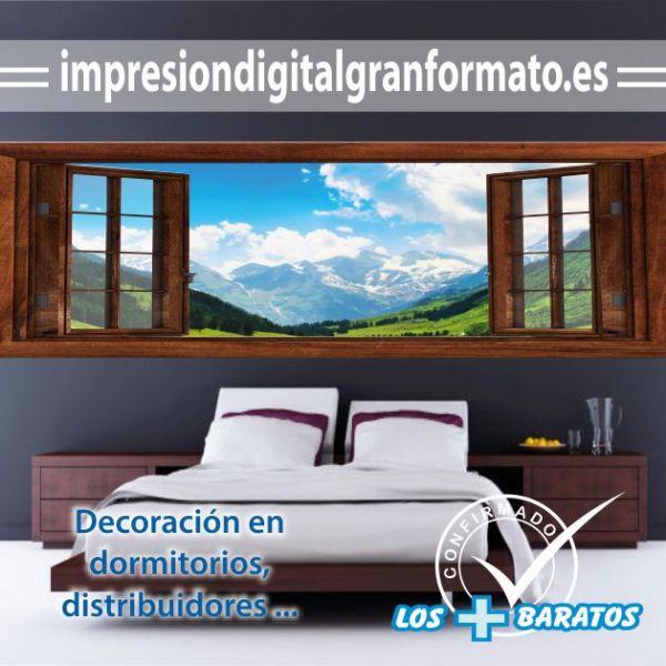 vinilo dormitorio personalizado
