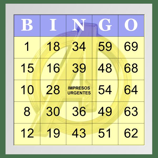 bingos a color