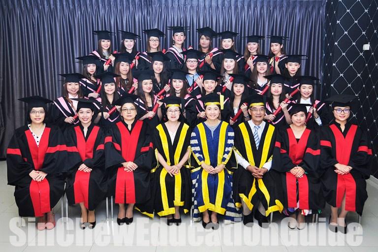 千俪艳美容学院 23美容师毕业了
