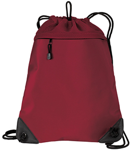 Cinch bag, red