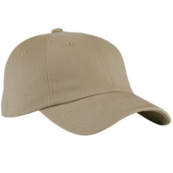 Khaki blue baseball cap