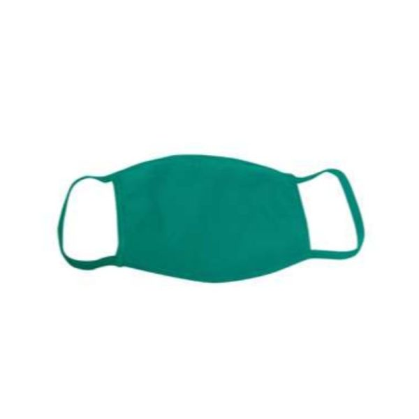 Kelly green face mask