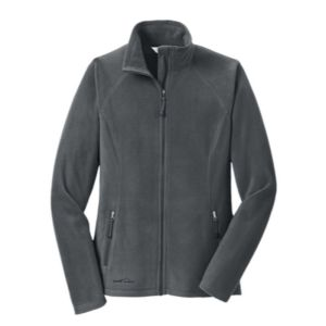 Ladies Full-Zip Microfleece Jacket, grey