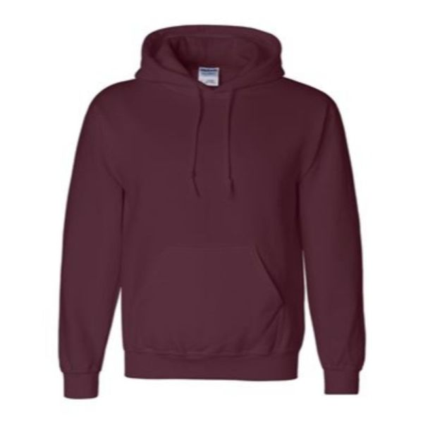 Hooded Sweatshirt, Maroon