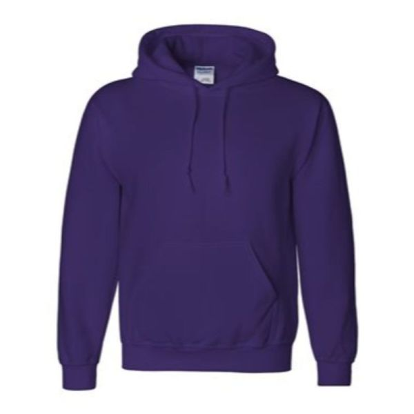 Hooded Sweatshirt, Purple