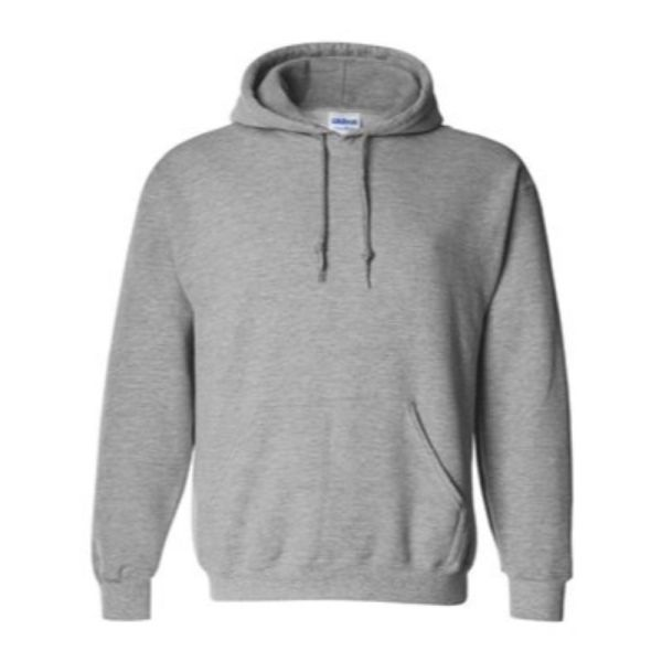 Hooded Sweatshirt, Sport Grey