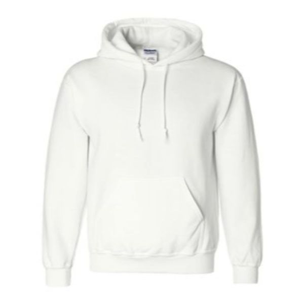 Hooded Sweatshirt, White