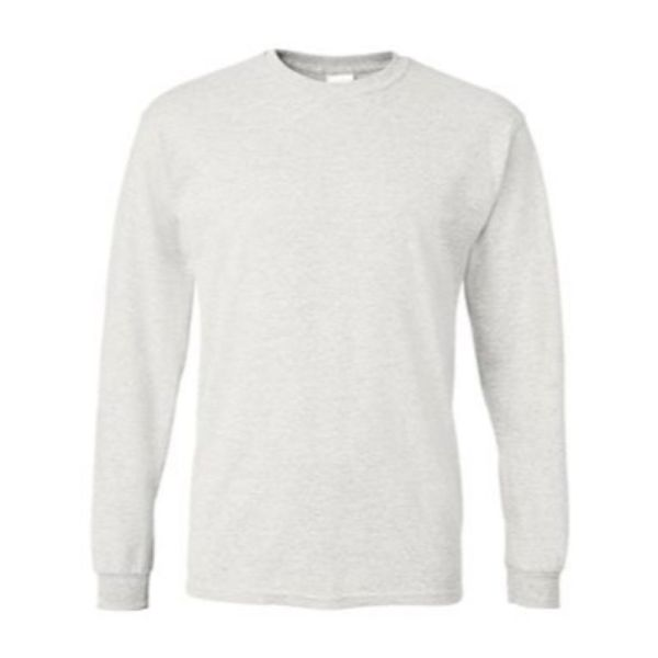 Long Sleeve Tee, White