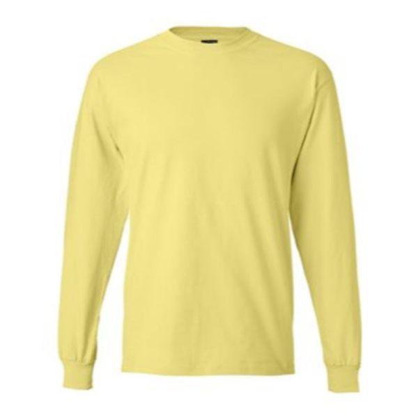 Long Sleeve Tee, Yellow
