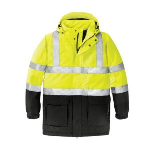 Safety jacket yellow/black