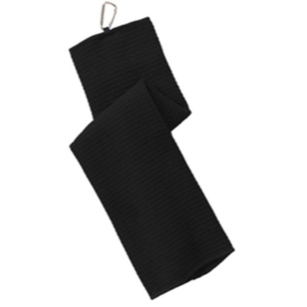 Golf towel with Carabiner