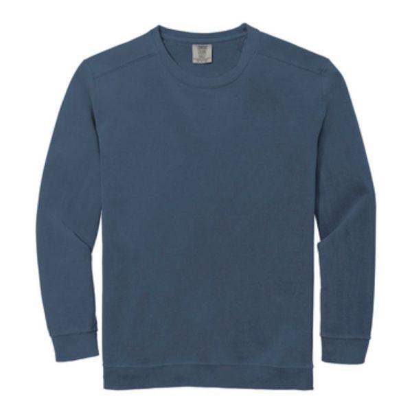 Comfort Colors Ring Spun Crewneck Sweatshirt, Blue Jean