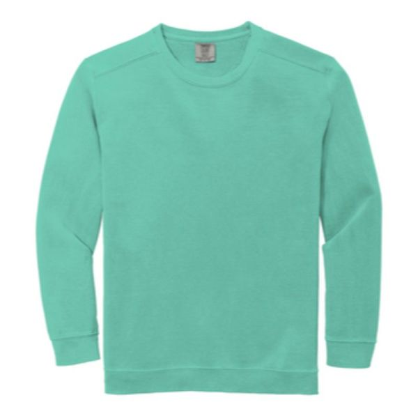Comfort Colors Ring Spun Crewneck Sweatshirt. Mint
