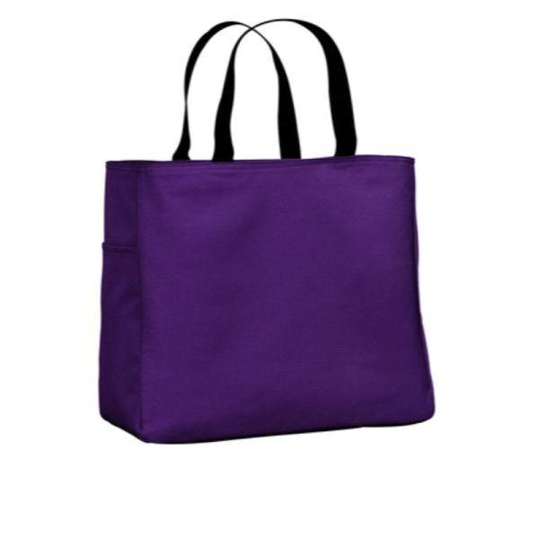 B0750 tote Purple