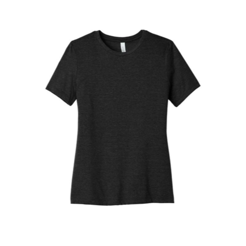 Ladies tee, Black Heather