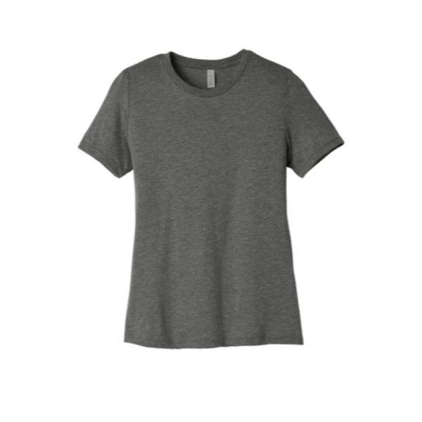 Ladies tee, grey