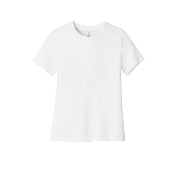 Ladies tee, white