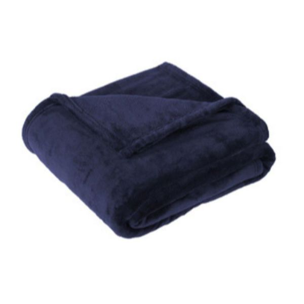 Polyester Fleece Blanket, Navy
