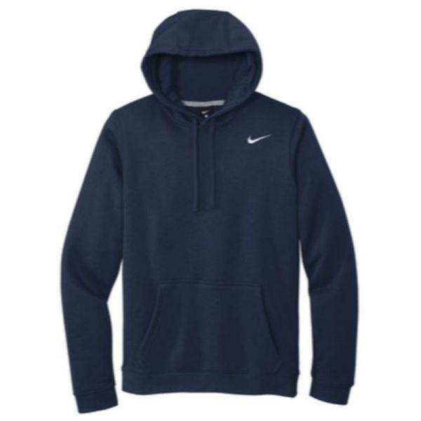 Nike Club Fleece Pullover Hoodie, Navy