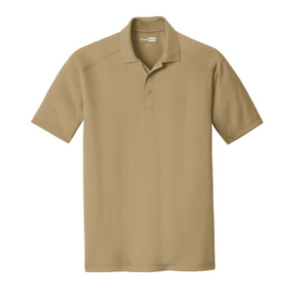 Snag-Proof Moisture-wicking Polo, Tan