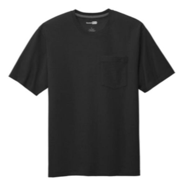 Workwear Pocket Tee, Black