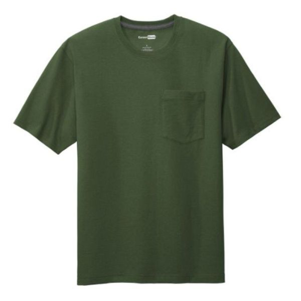 Workwear Pocket Tee, Dark Green