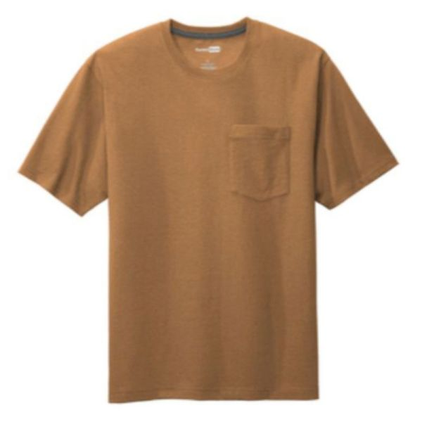 Workwear Pocket Tee, Duck Brown