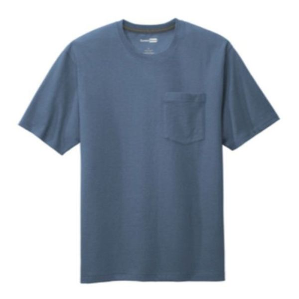 Workwear Pocket Tee, Regatta Blue