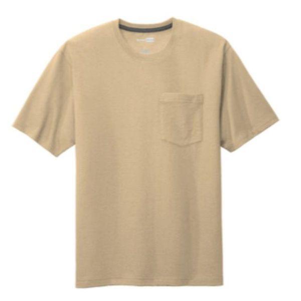 Workwear Pocket Tee, Tan