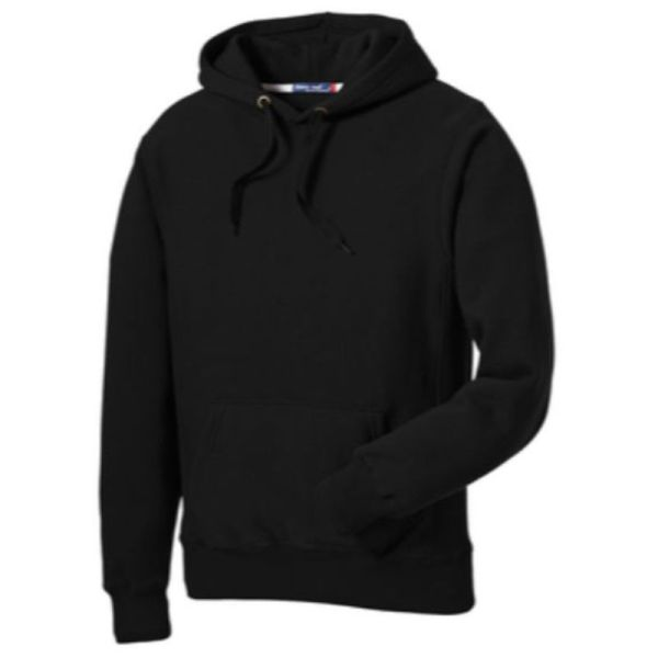 Sport-Tek® Super Heavyweight Pullover Hooded Sweatshirt, Black