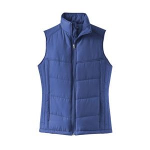 ladies vest, blue